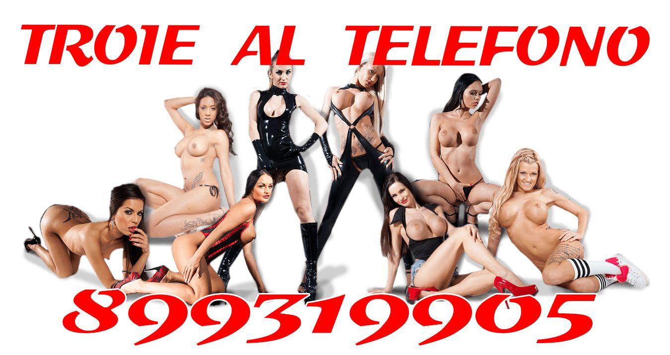 Giovani Troie al Telefono Erotico 899319905
